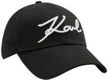 KARL LAGERFELD SIGNATURE CAP Cappellino black
