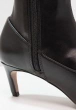 Topshop CRAWLER LEG Stivali sopra il ginocchio black