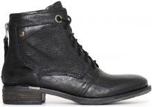 Stivaletti Nero Giardini  Polacchino  A719411 9411 scarpe stringate in pelle