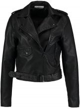 Noisy May NMSAMMI BIKER Giacca in similpelle black