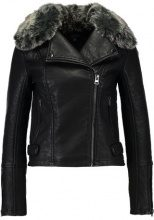 Topshop FEARNE Giacca in similpelle black