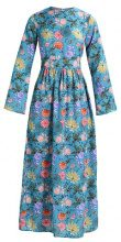 Glamorous Vestito lungo blue pink floral