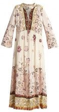 Free People IF ONLY YOU KNEW  Vestito lungo ivory
