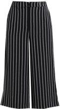 Vero Moda VMNIBBY MIDI CULOTTE Pantaloni black/white