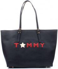 Borsa Shopping Tommy Hilfiger  AW0AW04644 Shopping Donna Blu Nautico