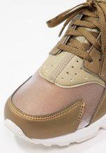 Nike Sportswear AIR HUARACHE RUN PRM TXT Sneakers basse khaki/summit white/metallic field