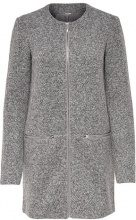 JDY JDYBESTY ZIP JACKET Cappotto corto light grey melange