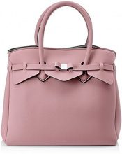 Save My Bag Miss 3/4, Borsa a Mano Donna, Rosa, 39.5x34x19 cm (W x H x L)