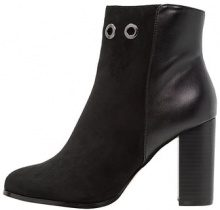 ONLY SHOES ONLBROOM EYELET HEELED Stivaletti con tacco black