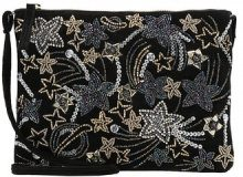 New Look PLANET STAR EMBELLISHED FLAT Borsa a tracolla black