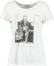 comma casual identity Tshirt con stampa white