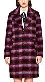 edc by ESPRIT 107cc1g017, Giubbotto Donna, Rosso (Bordeaux Red 600), Large
