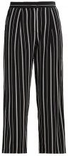 Selected Femme SFDUSINA PANT  Pantaloni black/white