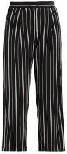 Selected Femme SFDUSINA PANT  Pantaloni black/white