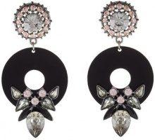 Topshop PERSPEX Orecchini pink/black
