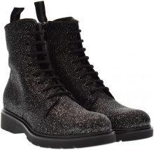 Stivaletti Nero Giardini  scarpe donna anfibi A719351D/100
