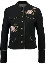 mint&berry FLORAL EMBROIDERED UTILITY  Giacca leggera black