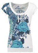 CHERAIN - T-shirt con stampa - blanco