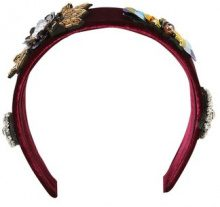 Topshop BURG EMB Hair Styling Accessory burgundy