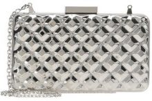Love Moschino PARTY CLUTCH Pochette argento
