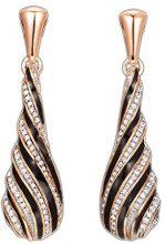 ESPRIT Collection orecchini da donna in argento 925con zirconi bianchi taglio brillante–eler92712a000