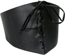 Topshop LACE UP CORSET   Cintura black