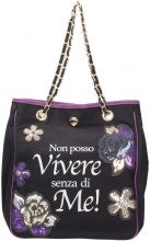 Borsette Le Pandorine  NYLON BAG Borse Accessori Stamp Vivere