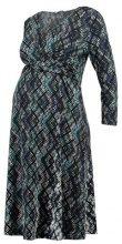 Anna Field MAMA Vestito di maglina dark blue/offwhite
