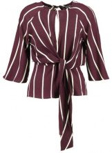 Topshop SLOUCHY KNOT  Camicetta burgundy