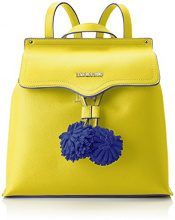 Love Moschino Borsa Small Grain Pu Giallo - Borse a zainetto Donna, (Yellow), 15x30x32 cm (B x H T)