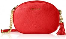 Michael Kors Md Messenger - Borse a tracolla Donna, Rot (Bright Red), 6x17x22 cm (B x H T)