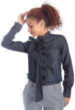 Camicetta Pepe jeans  PL301843 Camicia Donna Blu
