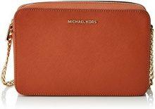 Michael Kors Crossbodies - Borse a tracolla Donna, Naranja (Orange), 1.9x10.199999999999999x22.9 cm (W x H L)