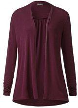 Street One QR Gesa, T-Shirt Donna, Violett (Master Wine 11018), 42 (Taglia produttore: 36)
