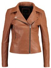 YAS YASSOPHIE COLOR JACKET Giacca di pelle tortoise shell