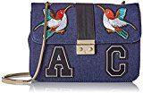 L'AETELIER CAESARS Caty - Borse a spalla Donna, Bleu (Jean), 11x22x28 cm (W x H L)