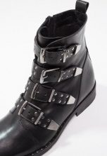 DNA Footwear BV Stivaletti texani / biker black
