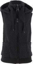 Gilet in pellicciotto di pile (Nero) - bpc bonprix collection