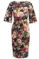 Vestito estivo - autumn floral black