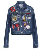 GAëLLE Paris - JEANS - Capispalla jeans - on YOOX.com