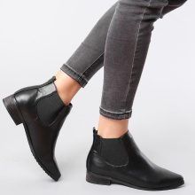 Chelsea boots classici in similpelle