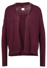Vila VIHELENA  Cardigan dark purple