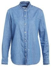 NORR AMY Camicia blue denim