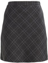 Dorothy Perkins CHECKED MINI Gonna a campana grey