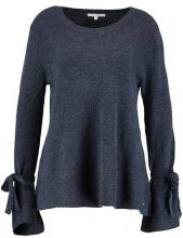 TOM TAILOR DENIM BOW CREW NECK Maglione blue melange