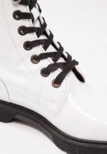 Even&Odd Stivaletti stringati white