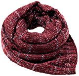 edc by Esprit Accessoires 107ca1q009, Sciarpa Donna, Rosso (Plum Red 605), Taglia Unica