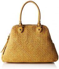 Boscha Shopper Bag - cartella Donna, Gelb (Yellow), 19x32x47 cm (L x H D)