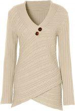 Pullover (Beige) - BODYFLIRT boutique
