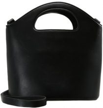 Topshop CHERIE CUTOUT HANDLE BUCKET BAG Borsa a mano black